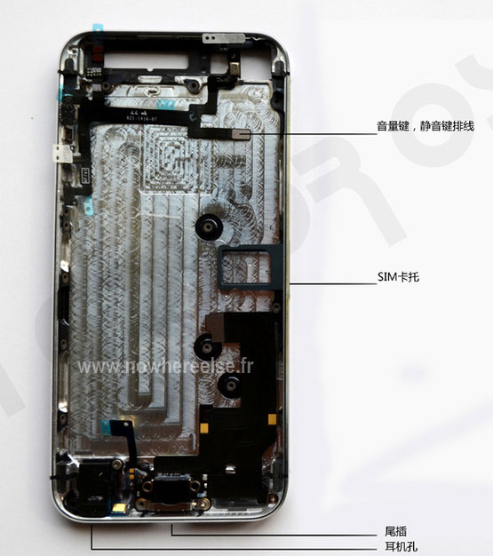 iPhone5 fully assembled spy shots 8 Looks Like This Would Be The Final iPhone 5