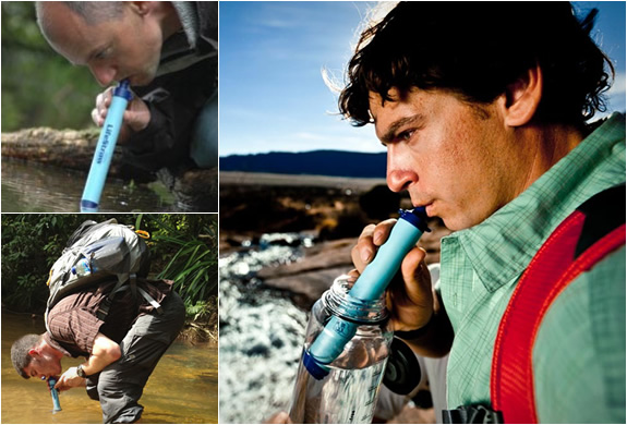 lifestraw emergency water filter 4 LIFESTRAW   An Emergency Water Filter