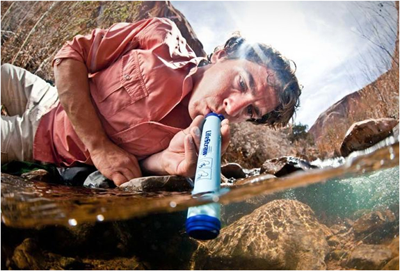 lifestraw emergency water filter LIFESTRAW   An Emergency Water Filter