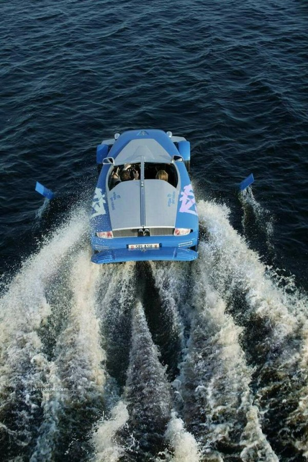 Rinspeed Splash    The Car You Can Sail