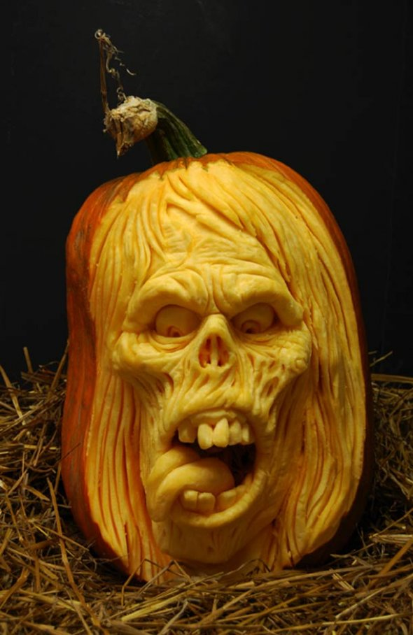 00046035 Amazing Pumpkin Art [Pictures]
