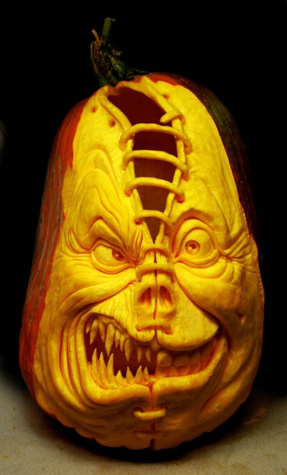 00046036 Amazing Pumpkin Art [Pictures]
