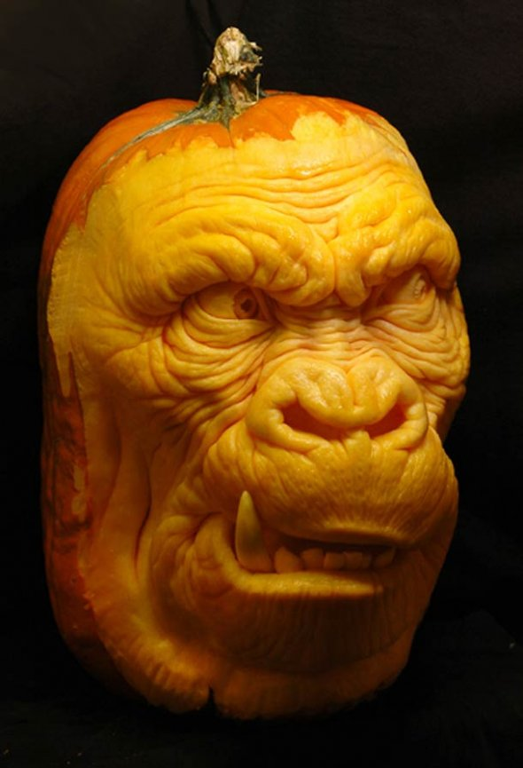 00046037 Amazing Pumpkin Art [Pictures]