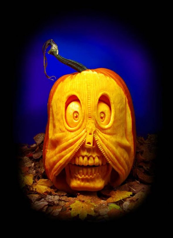00046039 Amazing Pumpkin Art [Pictures]