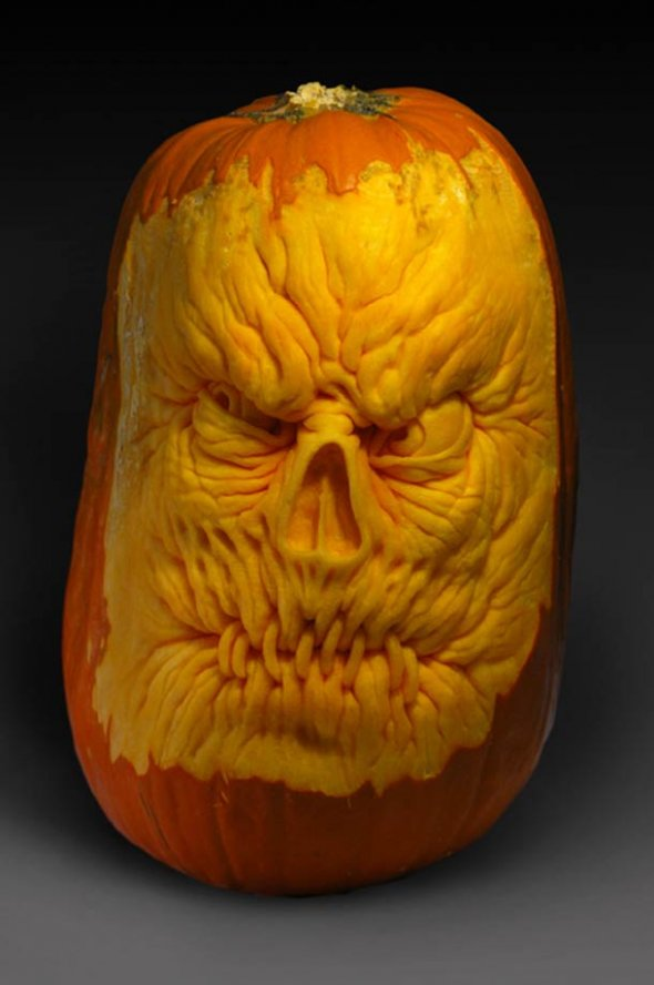 00046042 Amazing Pumpkin Art [Pictures]