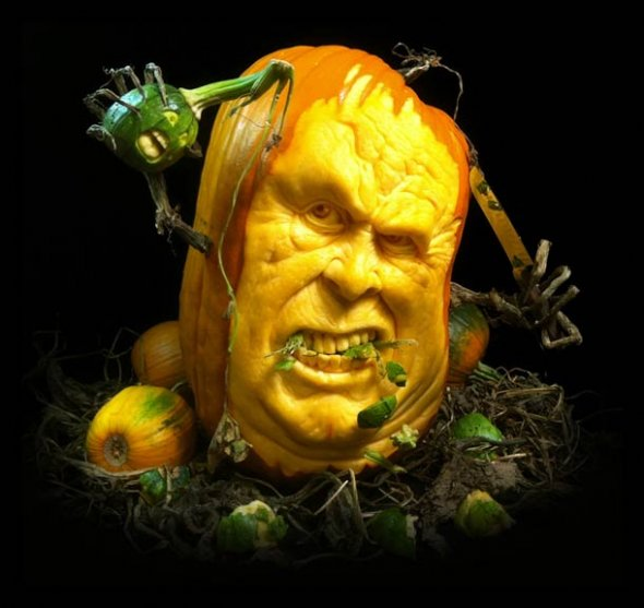 00046043 Amazing Pumpkin Art [Pictures]