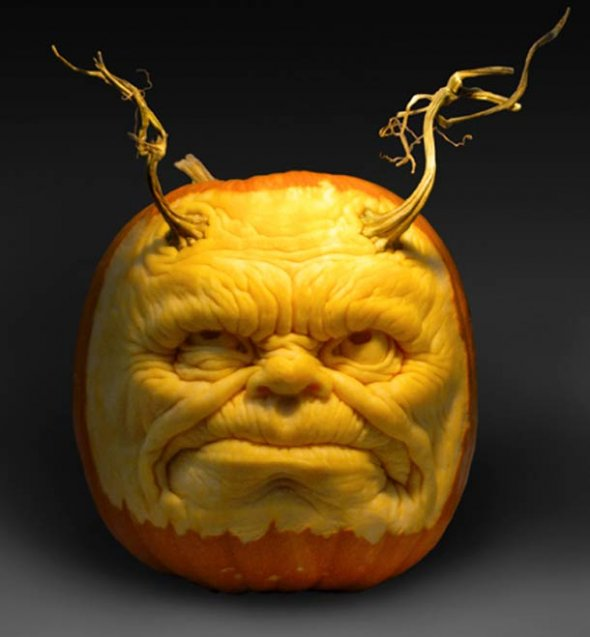 00046044 Amazing Pumpkin Art [Pictures]