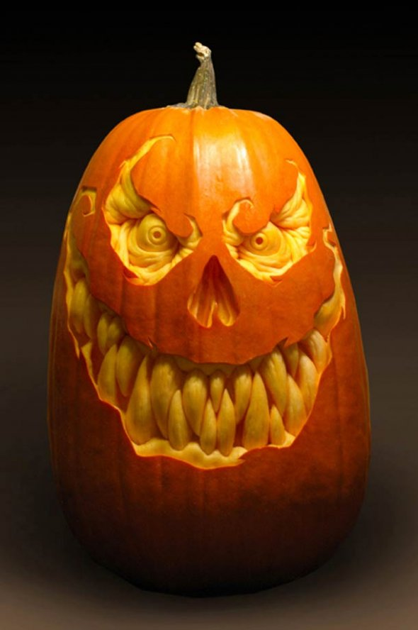 00046045 Amazing Pumpkin Art [Pictures]