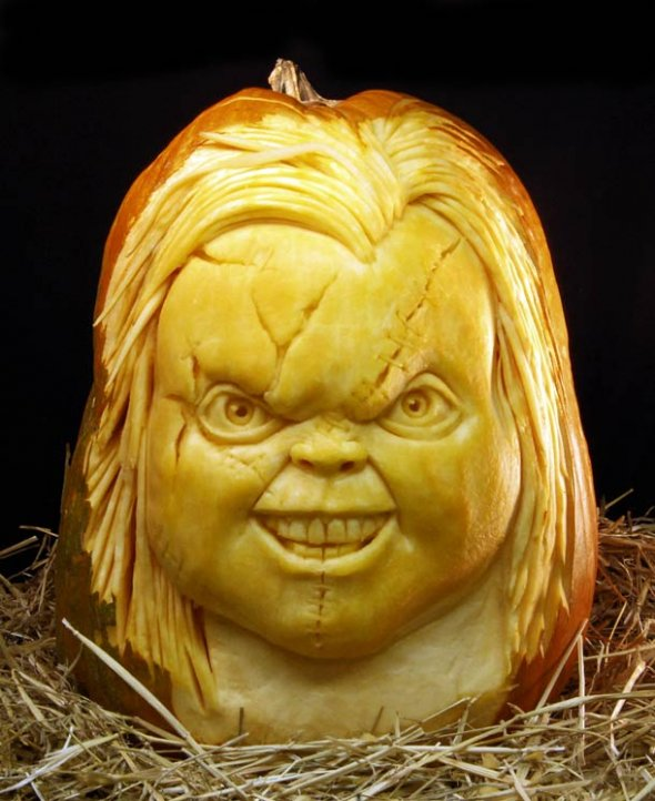 00046048 Amazing Pumpkin Art [Pictures]