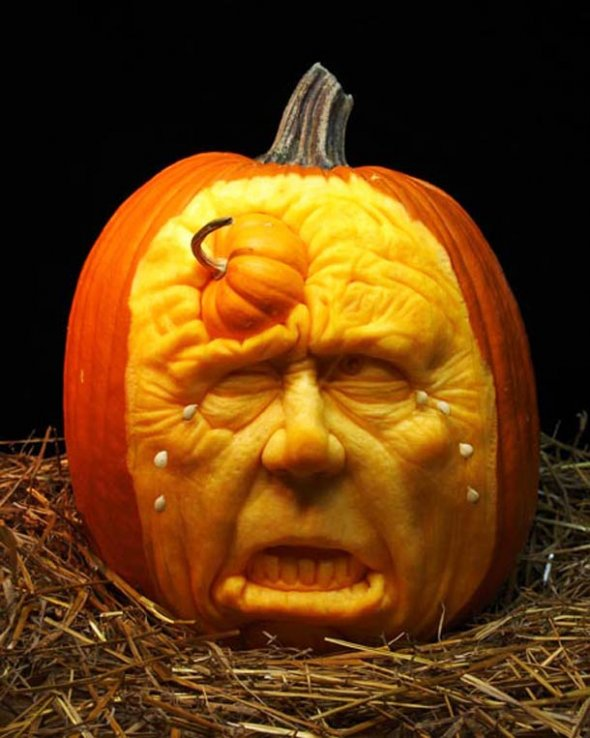 00046050 Amazing Pumpkin Art [Pictures]