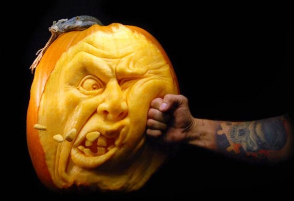 00046053 Amazing Pumpkin Art [Pictures]