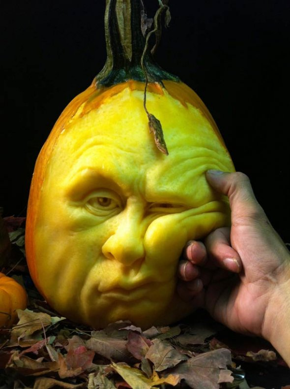 00046054 Amazing Pumpkin Art [Pictures]