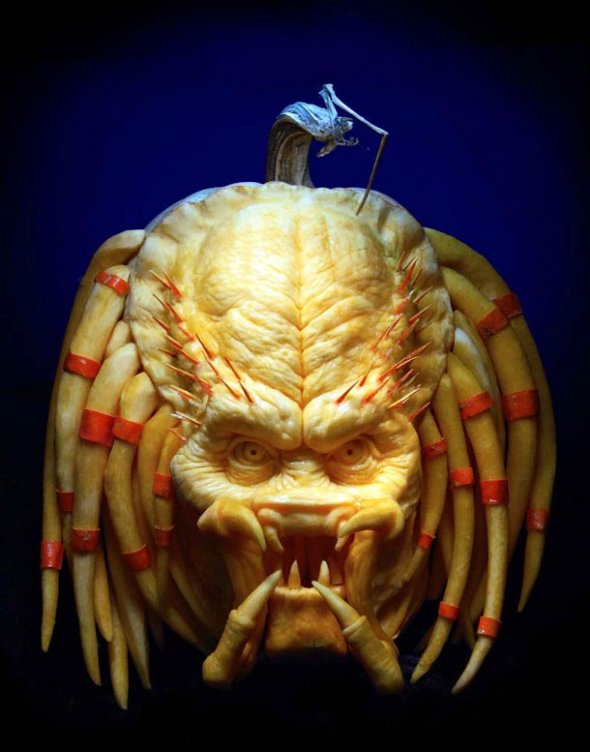 00046055 Amazing Pumpkin Art [Pictures]