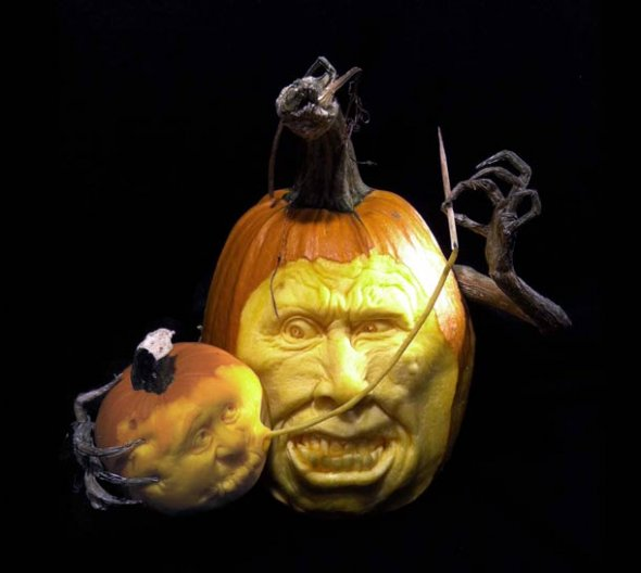 00046057 Amazing Pumpkin Art [Pictures]