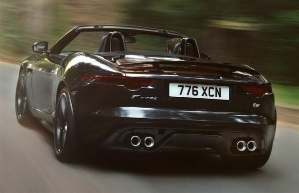 2013 Jaguar F Type 4 600x387 The Jaguar F Type 2013     The New Beast Of Town