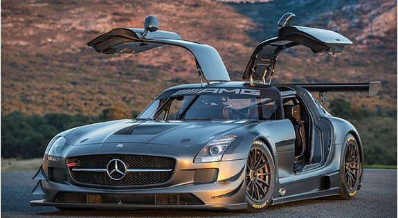 Mercedes sls amg gt3 45th anniversary edition realitypod for Mercedes benz sls amg gt3 price
