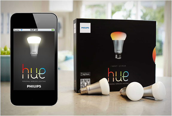 Philips HUE – Your New Colorful Bulb