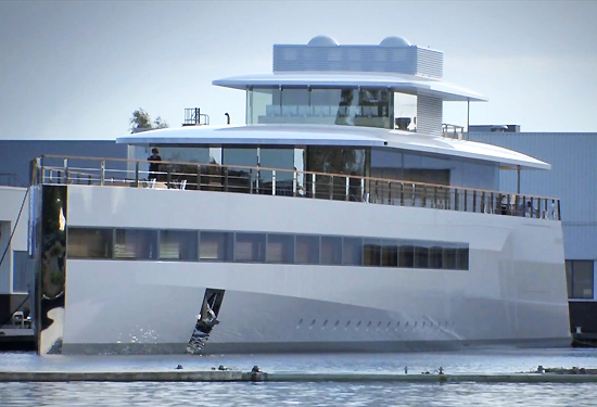 Late Steve Jobs' Venus Yacht Finally Launched