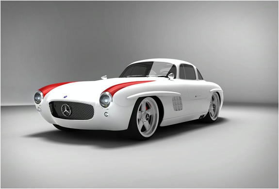 The New Mercedes 300SL PANAMERICANA
