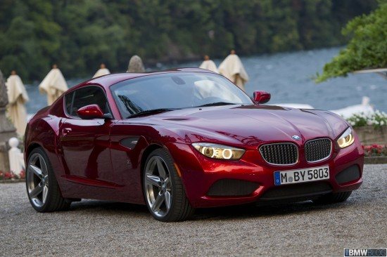 The New BMW ZAGATO Coupe