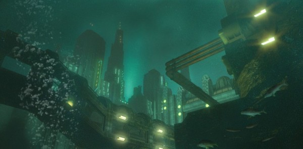 Underwater City & Tubes