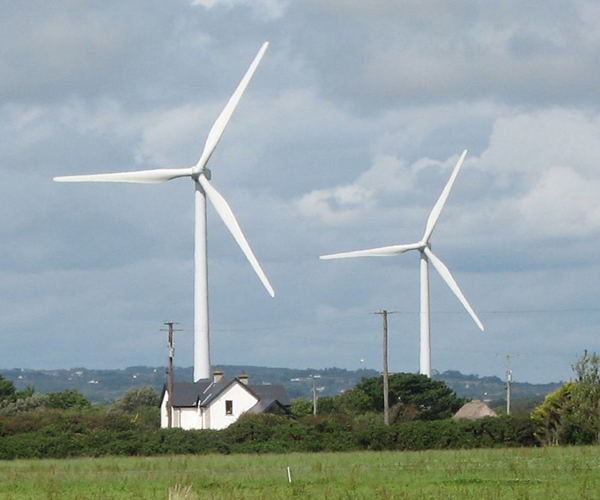 A Wind Turbine that Makes Electricity With No Wind