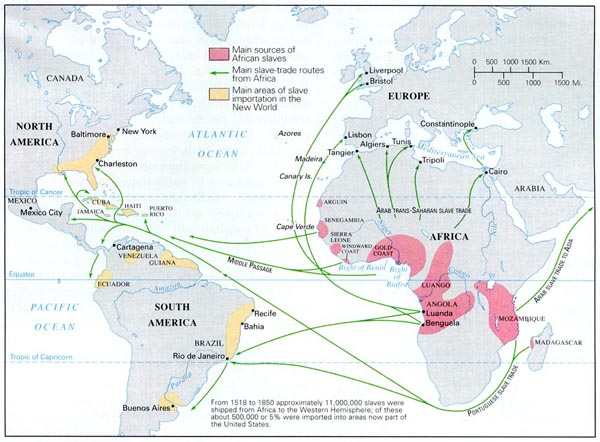 Europeans Invaded Africa and Kidnapped the Slaves