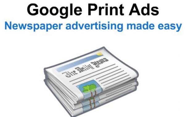 Google Print Ads and Google Radio Ads