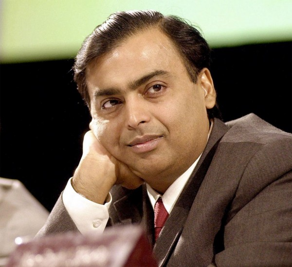Mukesh Ambani 600x549 Top 10 Richest People in the World 2013