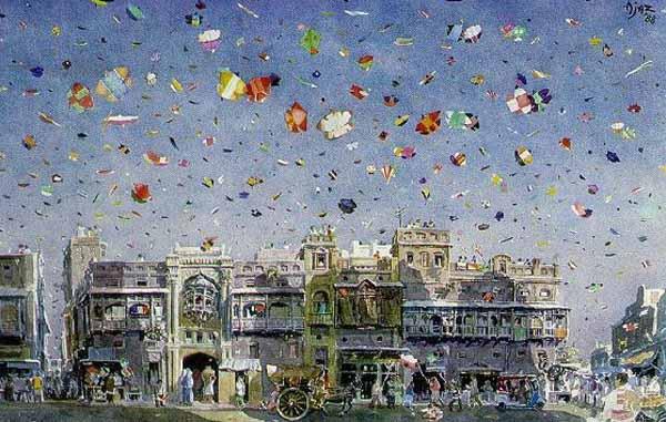The Basant Kite Flying Festival