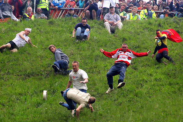 The Coopers Hill Cheese Rolling Competition