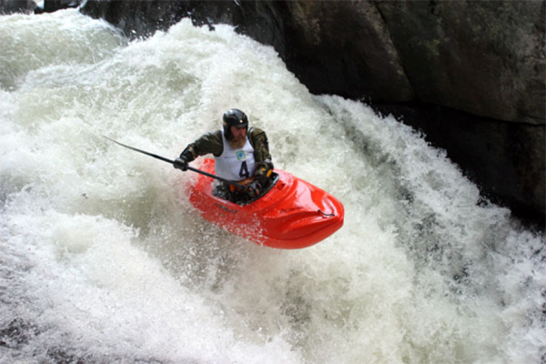 The Green River Narrows Kayak Race