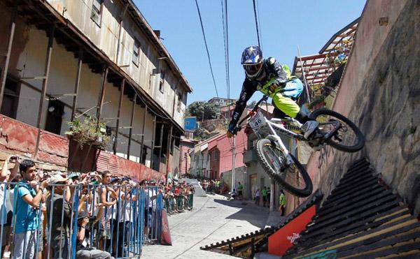 The Valparaiso Cerro Abajo Bike Race