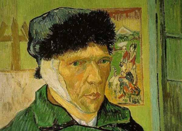 Van Gogh Cut Off His Own Ear