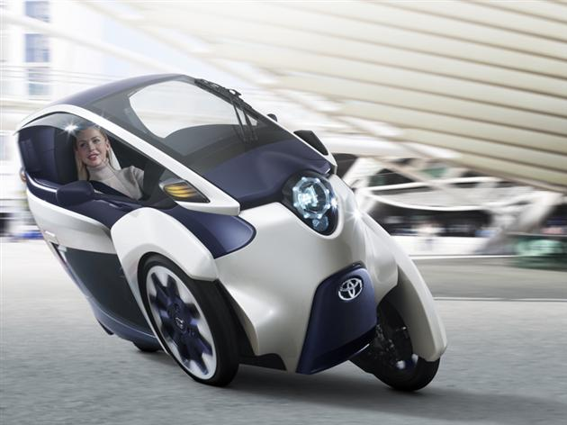 Toyota iRoad — The New Electric Vehicle