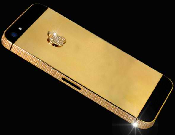 iphone 5 black diamond back iPhone 5 Black Diamond Edition Now Available For $15 Million