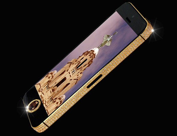 iphone 5 black diamond front iPhone 5 Black Diamond Edition Now Available For $15 Million