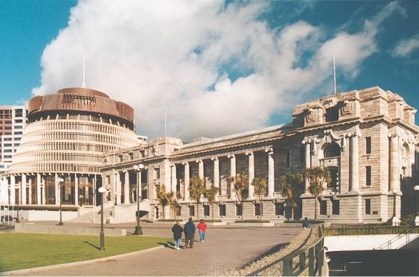 3. New Zealand Parliament Buildings