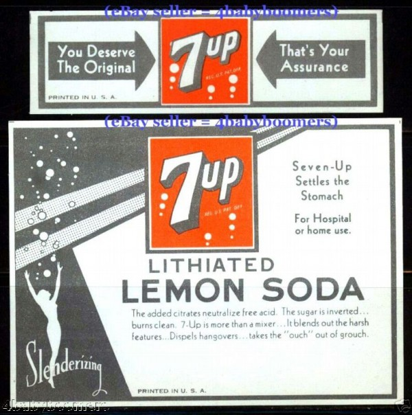 9. 7UP and Lithium