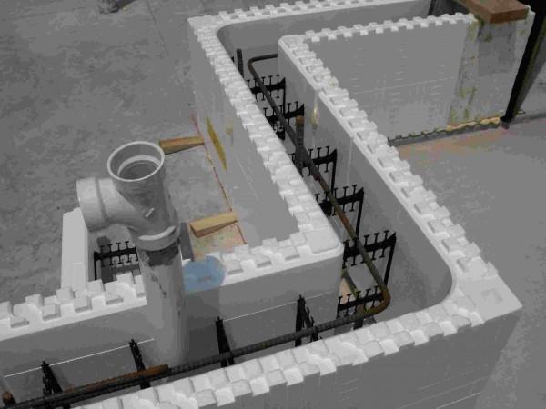 9. Insulating concrete forms
