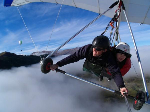 1. Hang Gliding