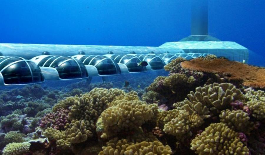1.  Poseidon Undersea Resort