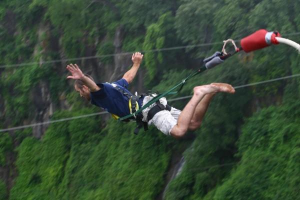 10. Bunjee jumping