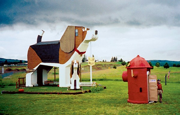 10.  Dog Bark Park Inn