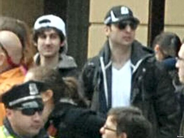 4. Dzhokhar Tsarnaev Dropping the Bomb