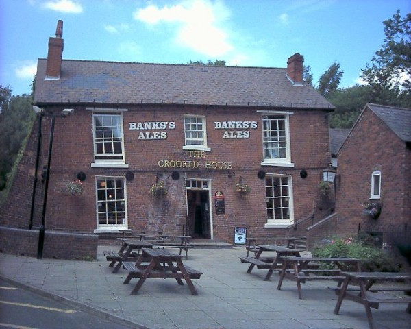 5. The Crooked House, Himley, England