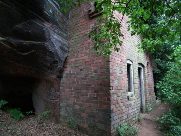 6. The Rock Cottages of Wolverley, UK