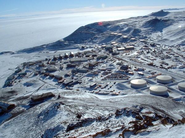 8. McMurdo Station, Antarctica