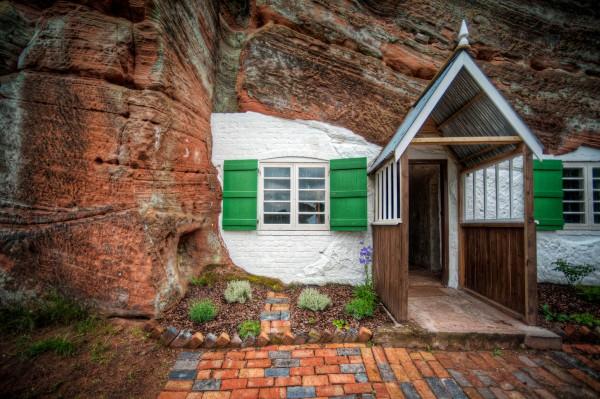 8. The Kinver Edge Rock Houses, UK