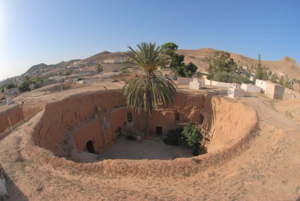9. Matmata Cave Dwellings, Tunisia